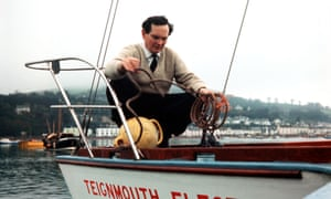 Donald Crowhurst prior to sailing in the Golden Globe single-handed, non-stop race around the world in 1968.