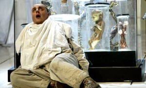 Matthias Goergne as Wozzeck at the Royal Opera House, London, in 2002.