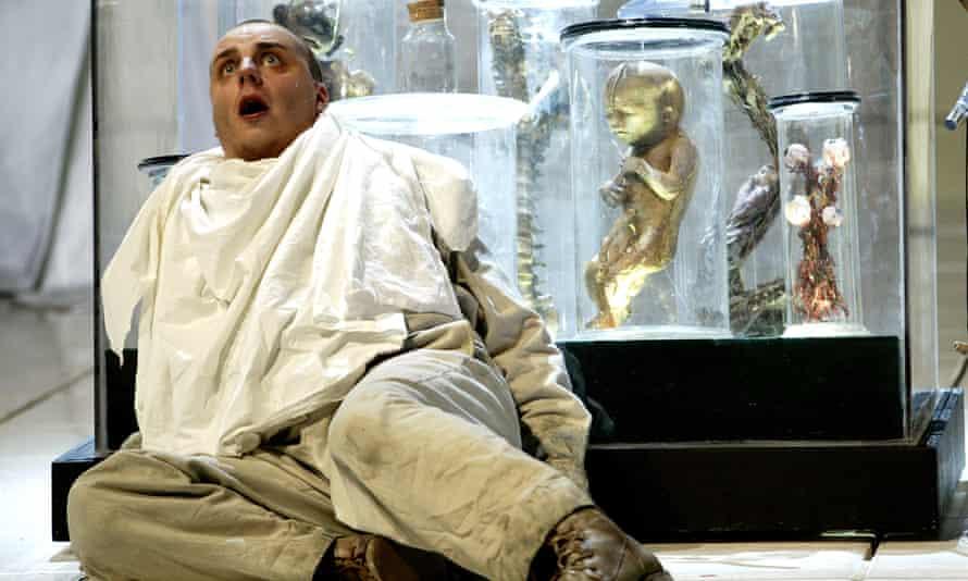 Matthias Goergne as Wozzeck at the Royal Opera House, London, in 2002.