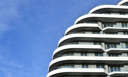 New appartments in Nine Elms, south-west London