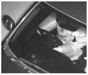 Driver using mobile