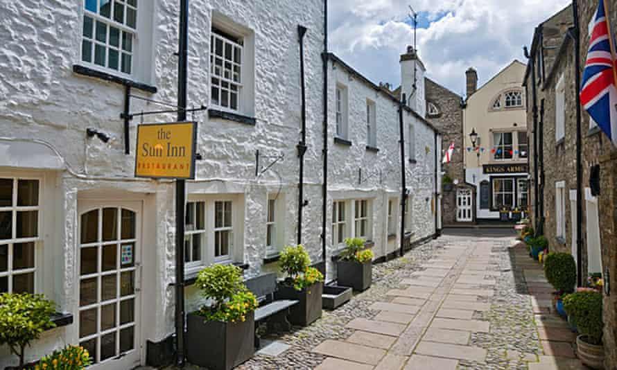 The Sun Inn and Restaurant, Kirkby Lonsdale.