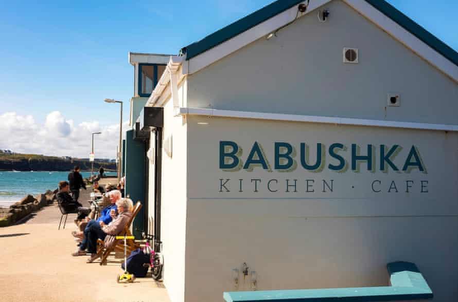 Babushkas, Portrush, Co. Antrim, Northern Ireland, UK.