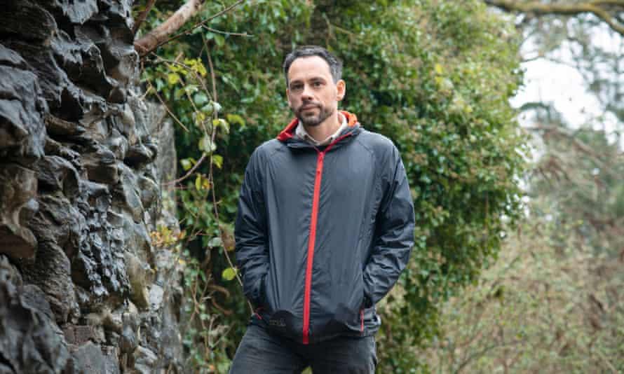 Steven Lovatt, in the parks near his home in Swansea, South Wales.