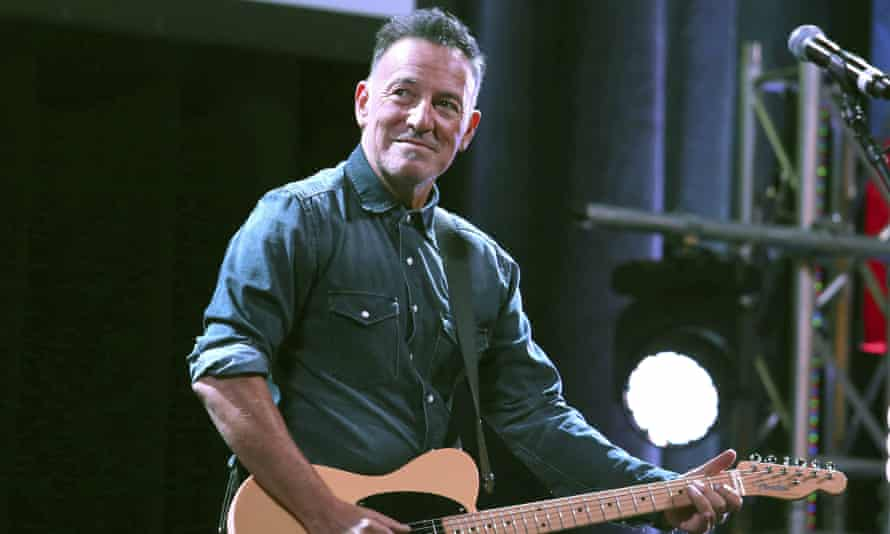 Bruce Springsteen in New York in 2016. Springsteen on Broadway is being seen as a test for a wider Broadway reopening.