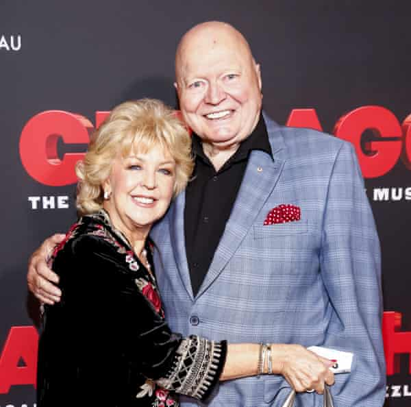 Patti and Bert Newton in 2019.