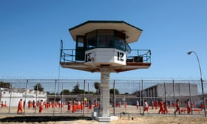 A state prison in Chino, California. The pope has signalled his interest in criminal justice by scheduling a visit to a prison in Philadelphia.