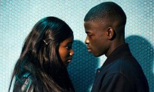Karidja Touré and Idrissa Diabaté in Céline Sciamma's Girlhood.