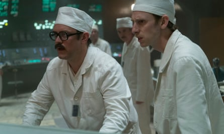 Sam Troughton and Robert Emms in Chernobyl.