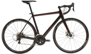 Stop!: this Orro has disc brakes, but can be fitted with calipers if you prefer