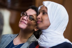 Coordinated Facebook posts made by an Israel-based group have vilified Muslim politicians such as Democratic congresswomen Ilhan Omar and Rashida Tlaib.