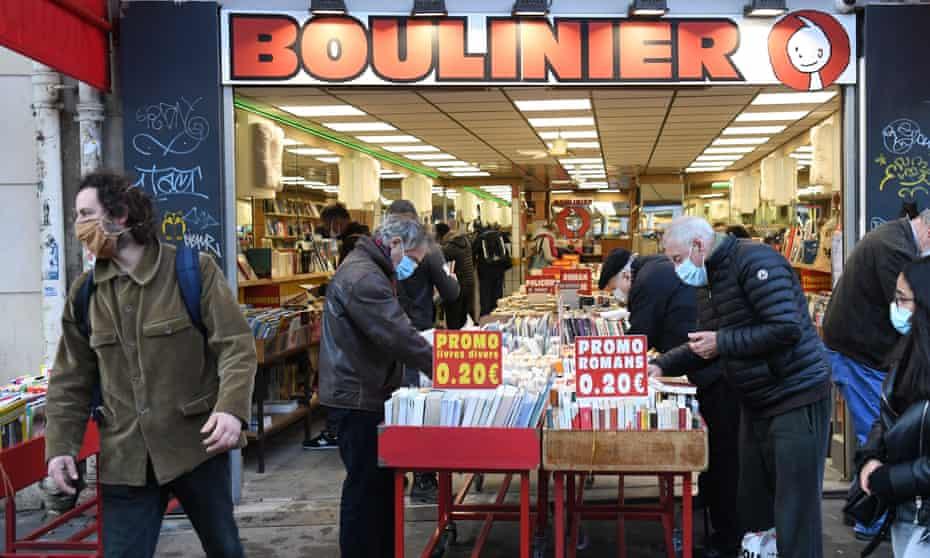 Boulinier bookshop in Paris