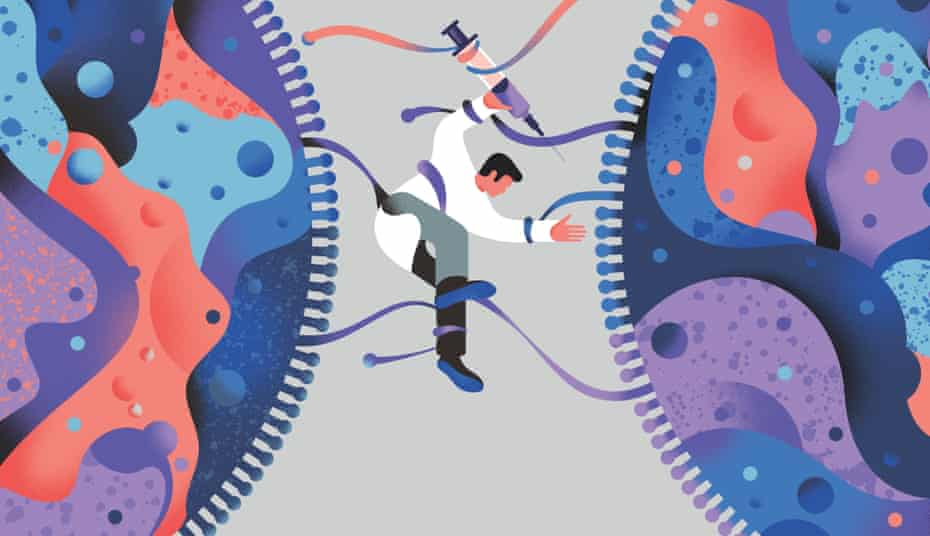 NATHALIE LEES illustration for LONG READ about the common cold
