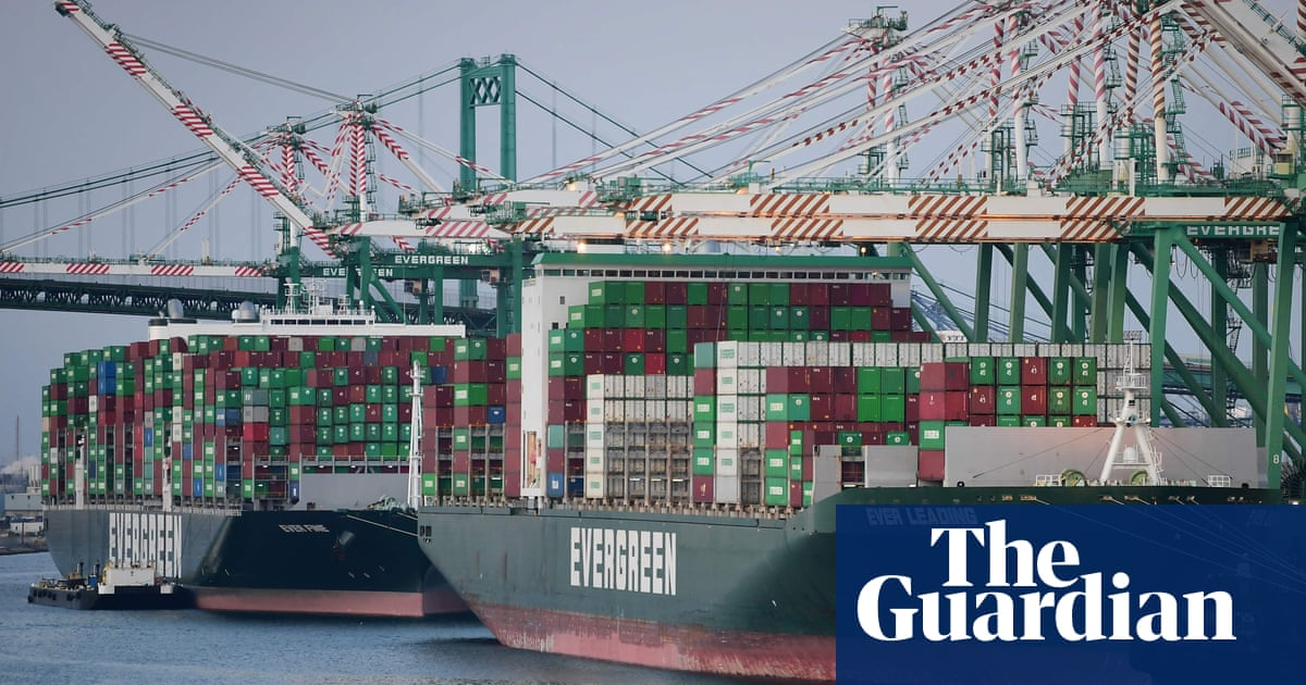 'A perfect storm': supply chain crisis could blow world economy off course