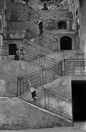 Town of Leonforte, Sicily, 1956