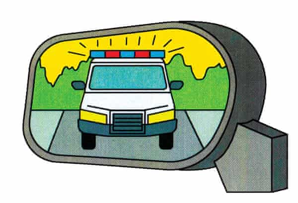 Stoned driving illustration for High Time column