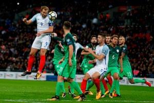 England's striker Harry Kane