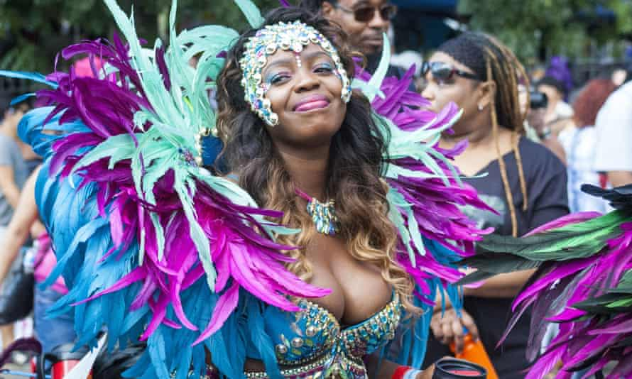 Dancers at the Notting Hill carnival