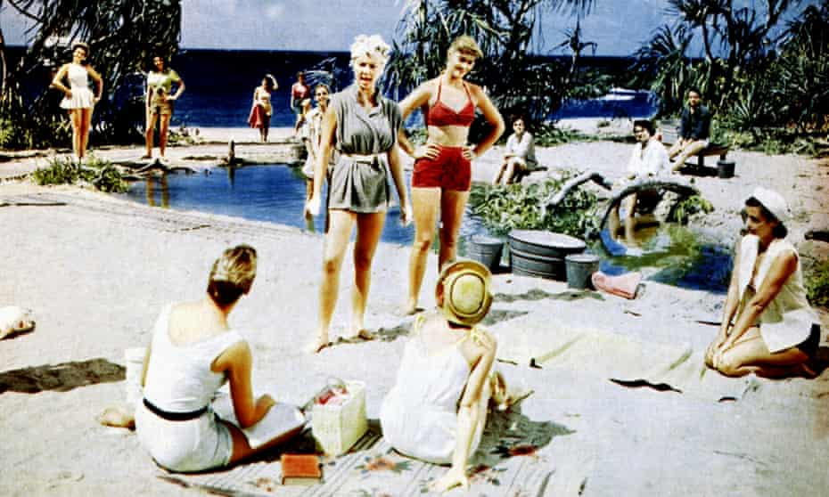 Adventurous … the 1958 film of South Pacific, directed by Joshua Logan.