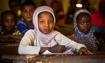 Schoolchildren in Niger