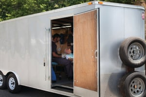 Many of the facilities at RAM clinics are housed in specially adapted trailers, lorries and vans.