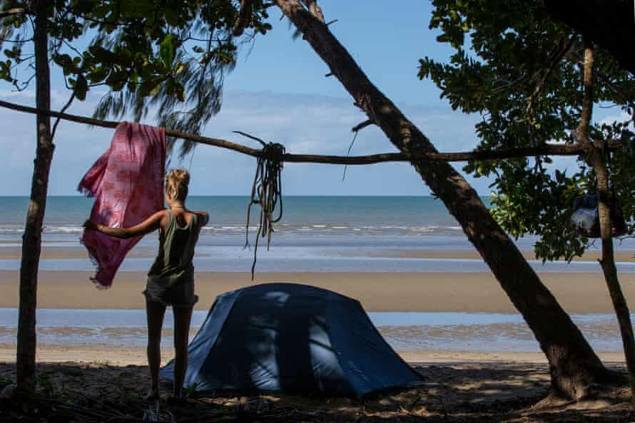 Wonga Beach north of Mossman after 13months on the trail.