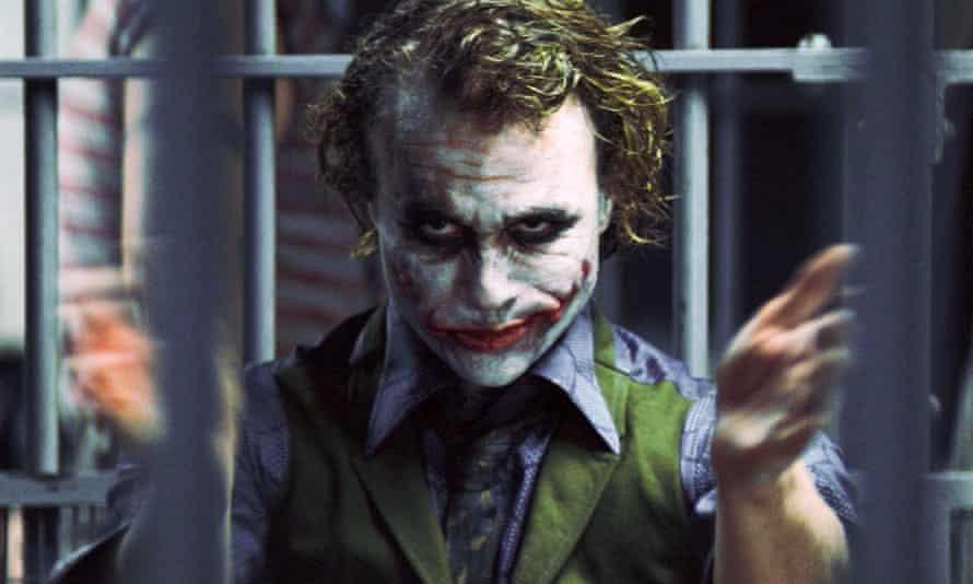 Heath Ledger's iconic portrayal.