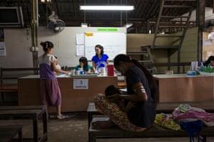 Mae Pa clinic on the Thai-Myanmar border