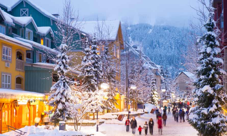 Whistler, Canada's most famous ski resort, was shut down at the end of March because of the outbreak of the highly infectious coronavirus variant.