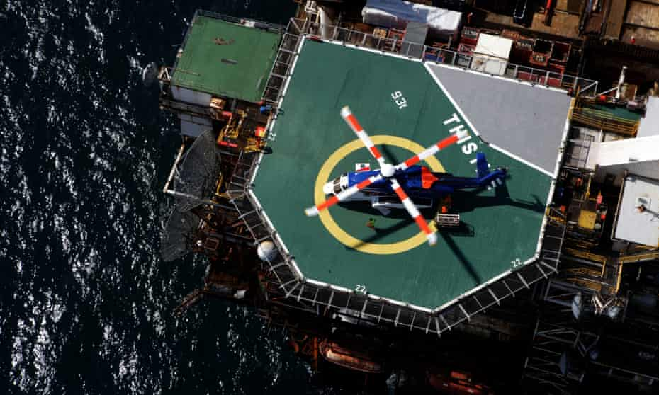 The Thistle platform in the North Sea operated by EnQuest