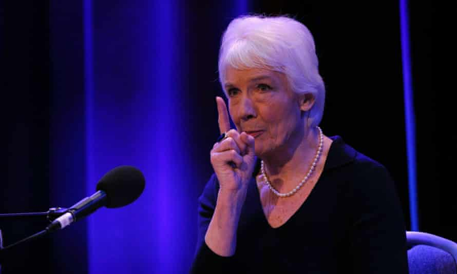 Dame Janet Smith speaks at BBC Broadcasting House after the publication of her report on Thursday.