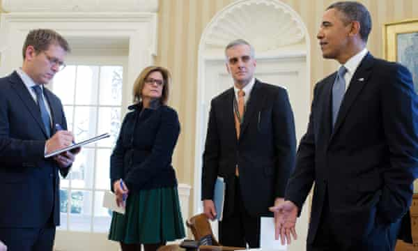 Palmieri was director of communications under Barack Obama.