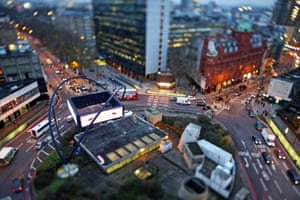 Silicon Roundabout in Old Street is the London hub for technology startups.