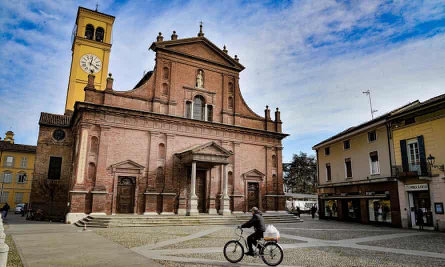 Codogno, Lombardy, in February 2020