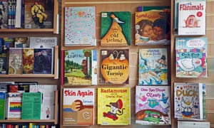 Children's books on display in Frontline Books, Leicester, in 2006