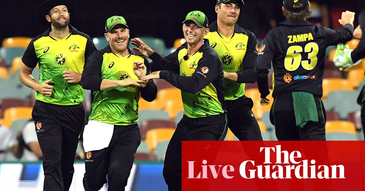 4236c55622d Australia beat India in first Twenty20 international – as it happened