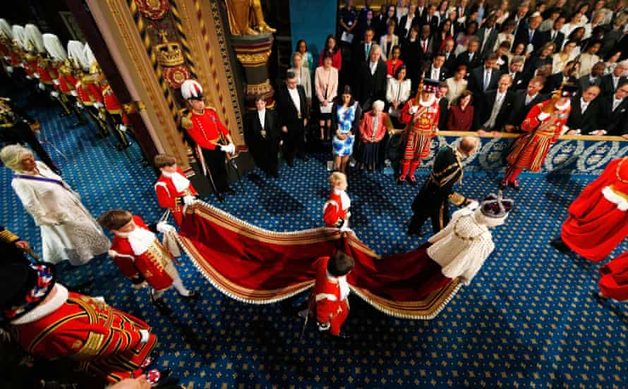 State opening of parliament, 2015