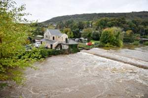 The River Neath in Aberdulais, south Wales.