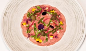 'You'd probably say thank you very much, that was nice': vitello tonnato.