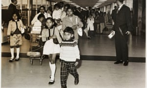 Kenyan Asian families arriving at Heathrow, 1967