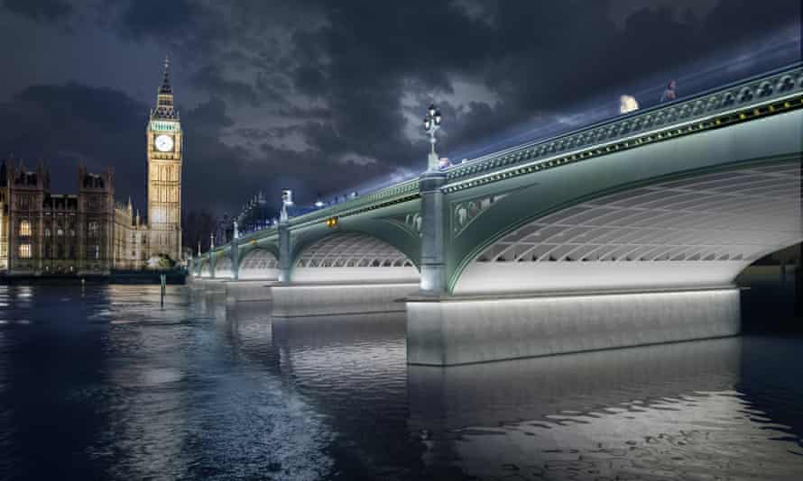 Diller Scofidio lights up Westminster Bridge.