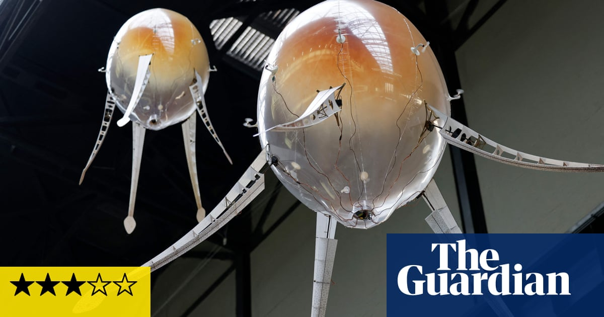 Anicka Yi's Turbine Hall review – invasion of the floating pod creatures
