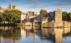 The Pont Saint-Benezet, also known as the Pont d'Avignon, is a famous medieval bridge in Avignon