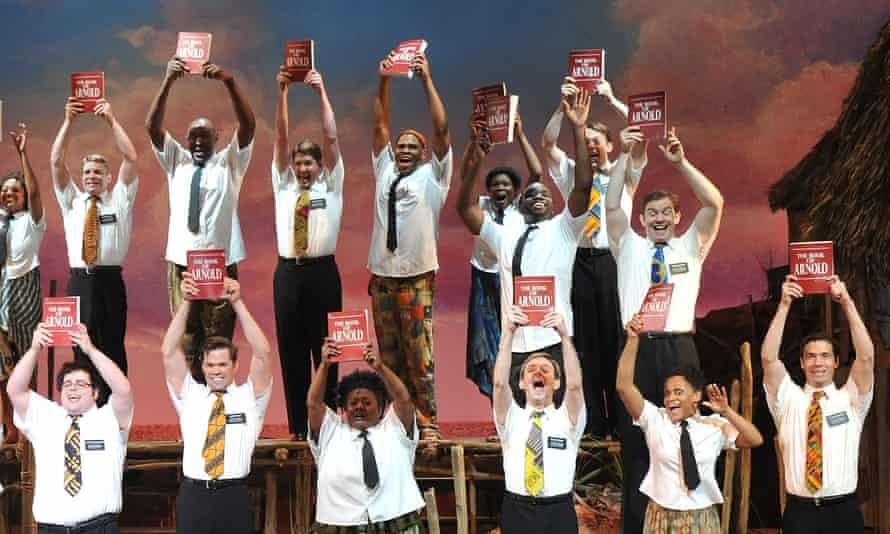 The Book Of Mormon hit musical's Broadway opening night in 2011