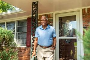 JT Johnson at his home in Atlanta, Georgia.
