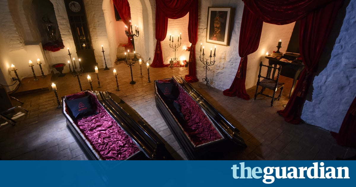 A Canadian Brother And Sister Are Passing Halloween Night Curled Up In Red Velvet Coffins The Transylvanian Castle That Inspired Dracula Legend