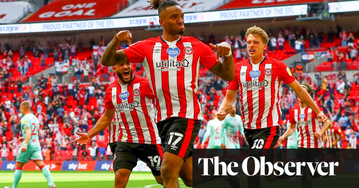 Brentford promoted to Premier League for first time after stinging Swansea