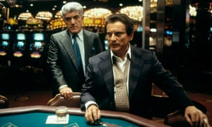 Frank Vincent, left, with Joe Pesci in the Martin Scorsese film Casino, 1995.