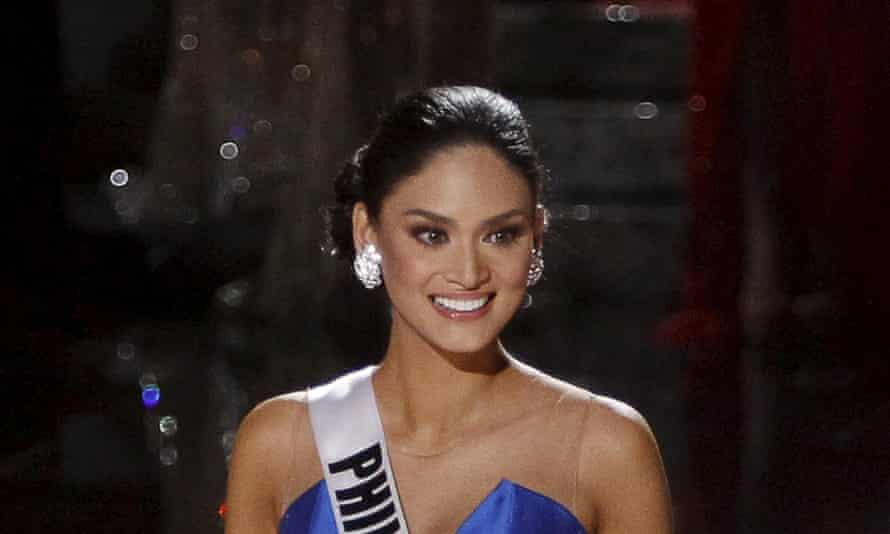 Miss Philippines, whose real name is Pia Alonzo Wurtzbach