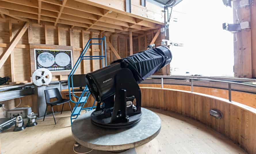 Telescope at Kielder Observatory